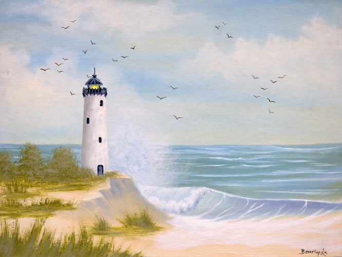 Lighthouse By The Shore